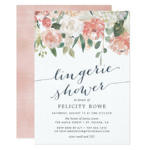 Midsummer Floral | Lingerie Shower Invitation starting at 2.26