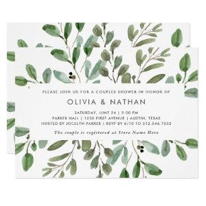 Minimalist Foliage | Couples Shower Invitation starting at 2.25