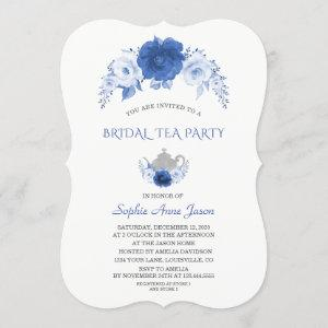 Modern Blue Flowers Bridal Tea Party starting at 2.80