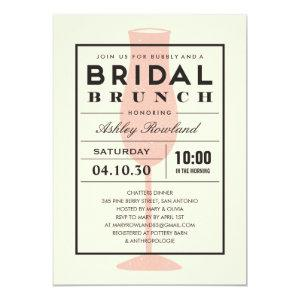 Modern Bridal Brunch Invitations starting at 2.82