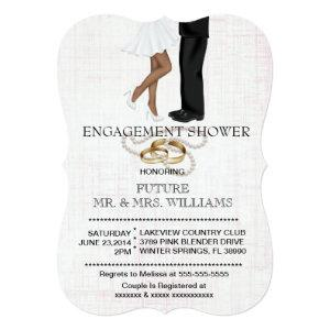 Modern Chic Couple Engagement Shower Invite starting at 2.91