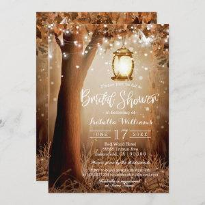 Modern Rustic Country String Lights Bridal Shower Invitation starting at 2.51