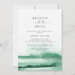 Modern Watercolor   Green Brunch with the Bride starting at 2.51