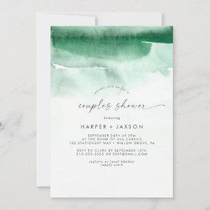Modern Watercolor   Green Couples Shower starting at 2.51