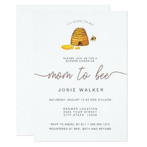 Mom To Bee, Baby Shower Invitation starting at 2.66