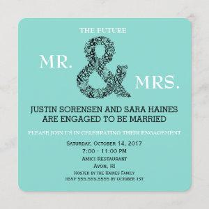 Mr & Mrs To Be Engagement Bridal Shower Party Invitation starting at 2.60