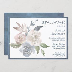 Muted Floral Bouquet | Pastel Rose Bridal Shower starting at 2.40