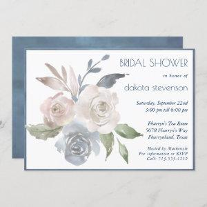 Muted Floral Bouquet | Soft Rose Bridal Shower starting at 2.40