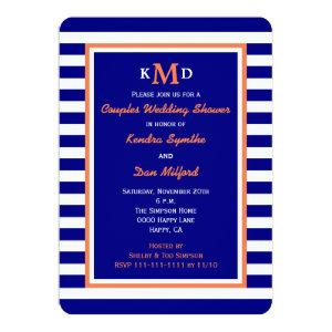 Nautical Couples Coed Wedding Shower Invitation starting at 2.81