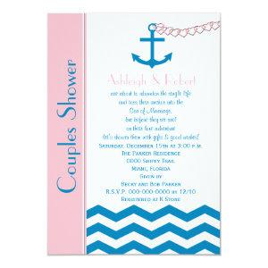 Nautical Couples Coed Wedding Shower Invitation starting at 2.61
