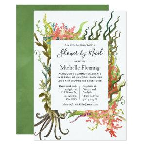 Nautical Seaweed Baby or Bridal Shower by Mail Invitation starting at 2.66