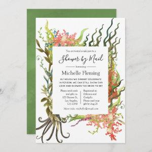 Nautical Seaweed Baby or Bridal Shower by Mail Invitation starting at 2.51