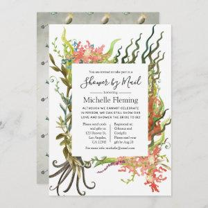 Nautical Seaweed Bridal or Baby Shower by Mail Invitation starting at 2.51