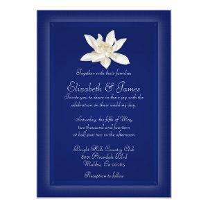 Navy Blue Wedding Invitations starting at 2.66
