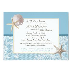 Ocean Theme Wedding Shower Invitation starting at 3.30