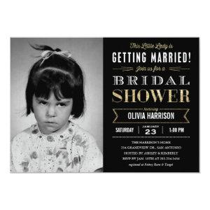 Old Picture Bridal Shower Invitations starting at 2.82
