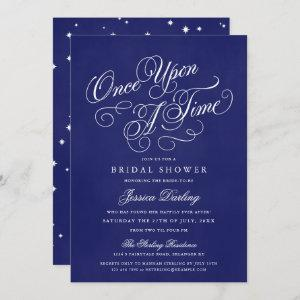 Once Upon A Time Shower Invitations Royal Blue starting at 2.98