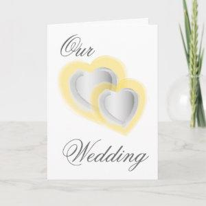 Our Wedding - Customized - Customized Invitation starting at 3.45