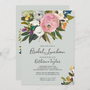 Painted Floral Bridal Luncheon Invitation starting at 2.51