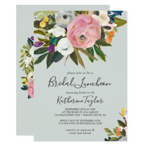 Painted Floral Bridal Luncheon Invitation starting at 2.26