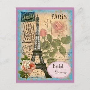 Pairs Eiffel Tower & Roses Bridal Shower starting at 2.31