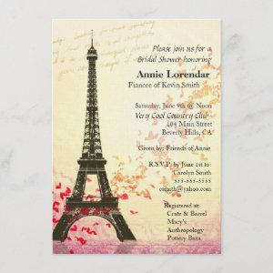 Paris Themed Bridal Shower  template starting at 3.40