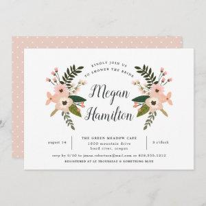 Peach Meadow Bridal Shower Invitation starting at 2.51