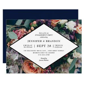 Photo Floral Bouquet Couples Wedding Shower Invitation starting at 2.40