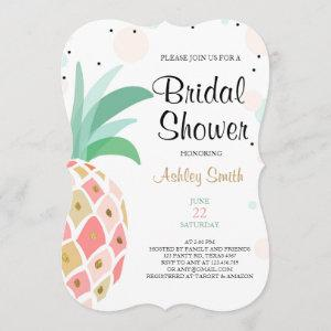 Pineapple Bridal shower invitation Tropical Baby starting at 2.91