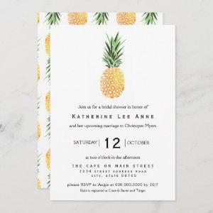 Pineapple Southern Bridal Shower Invitation starting at 2.66