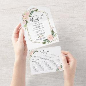 Pink Bridal Shower  With Recipe Card starting at 3.10