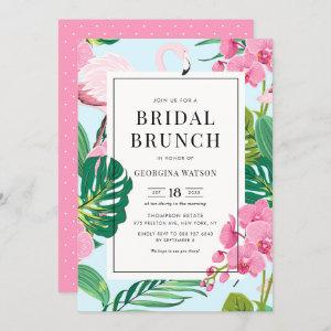 Pink Flamingo and Orchids Tropical Bridal Brunch starting at 2.40