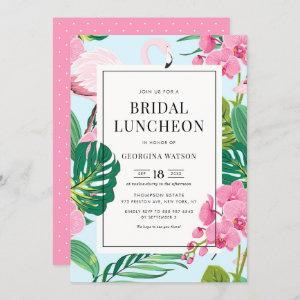 Pink Flamingo and Orchids Tropical Bridal Luncheon starting at 2.40