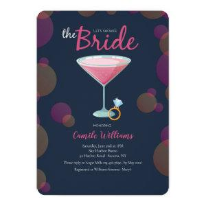 Pink Martini Bridal Shower Invitation starting at 2.65