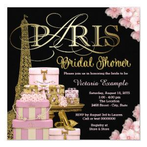 Pink Paris Bridal Shower Invitation starting at 2.40