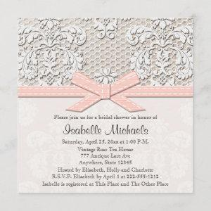 Pink Pearl and Lace Bridal Shower starting at 2.56