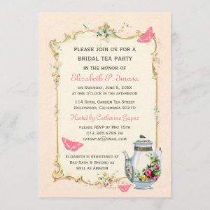 Pink Vintage French Bridal Tea Party starting at 2.51