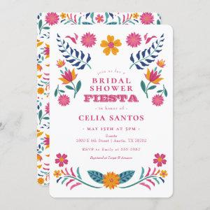 Pink Yellow Mexican Fiesta Bridal Shower Invitation starting at 2.60