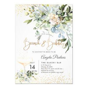 PixDezines Watercolor Blue Gum Brunch Bubbly Invitation starting at 2.15