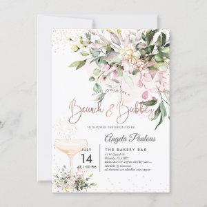 PixDezines Watercolor Pink Gum Brunch Bubbly Invitation starting at 2.20