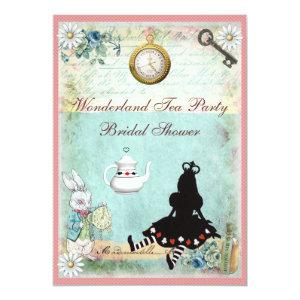 Princess Alice in Wonderland Bridal Shower Invitation starting at 2.66