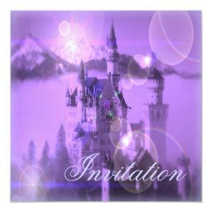 princess party fairytale castle invitation starting at 2.67