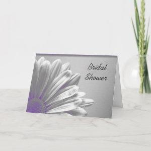 Purple Floral Highlights Bridal Shower Invitation starting at 3.45