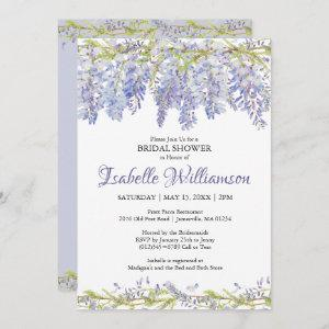 Purple Watercolor Floral Bridal Shower starting at 2.51
