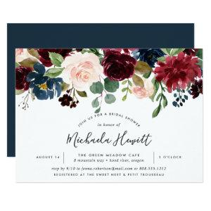 Radiant Bloom Bridal Shower Invitation starting at 2.26