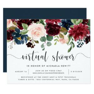 Radiant Bloom Virtual Bridal or Baby Shower Invitation starting at 2.21
