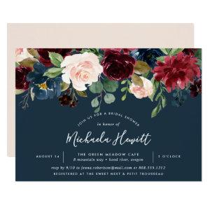 Radiant Bloom | Watercolor Floral Bridal Shower Invitation starting at 2.26
