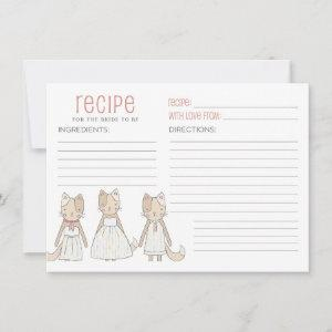 Recipe for Bride To Be Getting Meowied  Invitation starting at 2.21