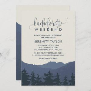 Retreat to the Mountains Bachelorette Weekend Invitation starting at 2.51