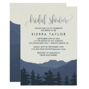 Retreat to the Mountains Bridal Shower Invitation starting at 2.51